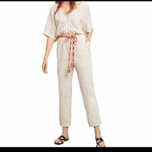 Feather Bone by Anthropologie pantsuit